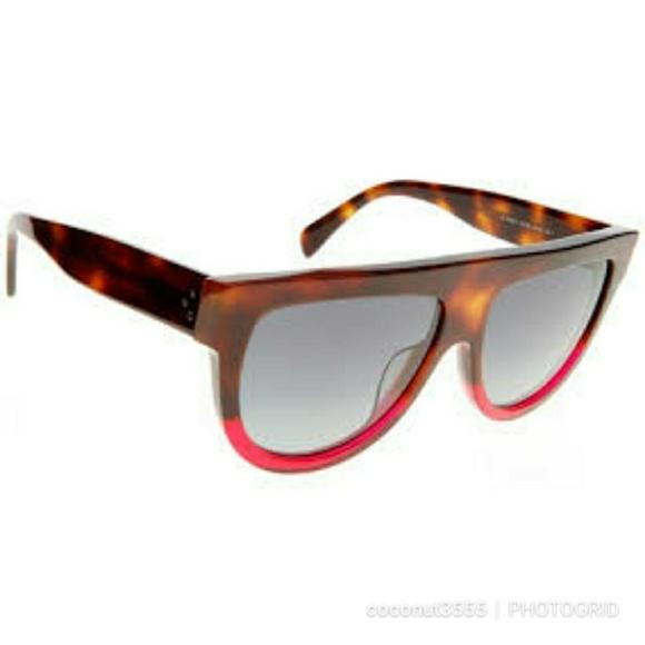 0837ddeb0 Celine Accessories | Cl41026 Shadow Sunglasses Pink Bottom | Poshmark